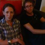 Liz & Dave (brother & sister)